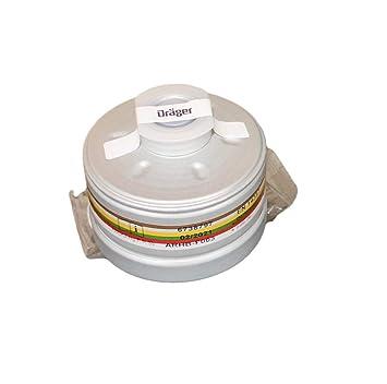 Dräger a2b2e2 K2hgp3 RD Filtro con DIN EN Redondo de Rosca RD40: Amazon.es: Electrónica