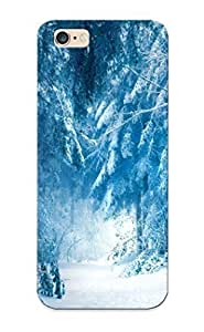 0f29de74442 Tough Iphone 6 Plus Case Cover/ Case For Iphone 6 Plus(Winter Road) / New Year's Day's Gift by kobestar