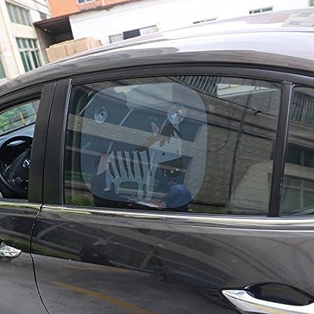 WINOMO para sombrilla Auto del coche lateral Parasol Parasol Protector de rayos UV para limpiaparabrisas (cebra): Amazon.es: Bricolaje y herramientas