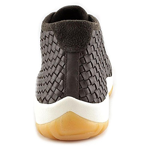 ... Nike Jordan Framtida Premie Gymnastiksko Basketskor Brun Mörk Choklad /  Segel Gum Gul ...