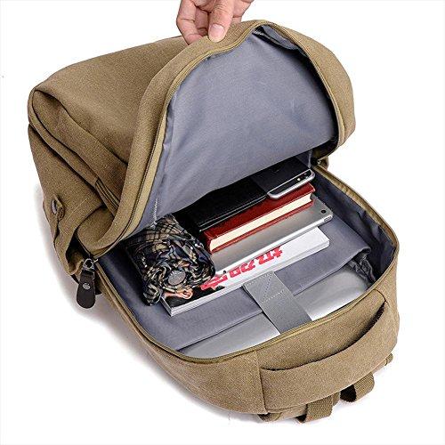 Zaino, alla moda tela pacchetto di grande capacità, la corsa esterna zaino, borsa studente di scuola superiore