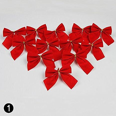 Imagenes Lazos De Navidad.Lazos De Calistous Para Decoracion De Navidad Jardines O Bodas 12 Unidades