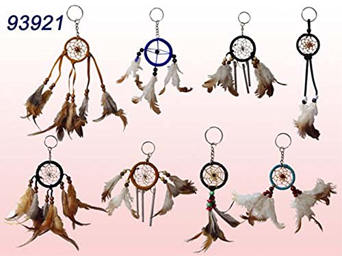 Handmade Dream Catcher Key Rings Wholesale 12 Pc Pack (NpDc7-12 - Www Tiffany Co Usa