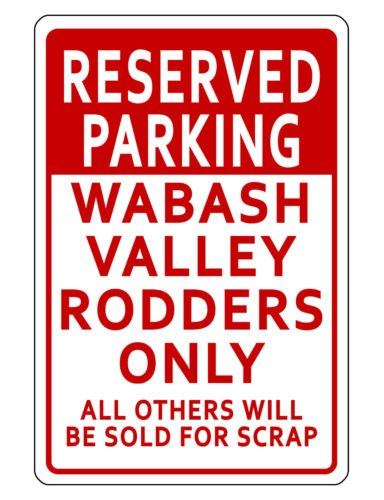 NEW PERSONALIZED RESERVED PARKING SIGN DURABLE ALUMINUM NO RUST CUSTOM METAL SIGN. - Family Reserved Parking Sign