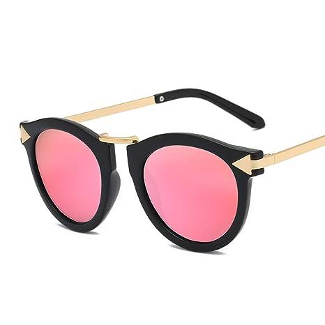 Gafas Gafas de Sol Redondas de Moda para Mujeres, Hombres ...