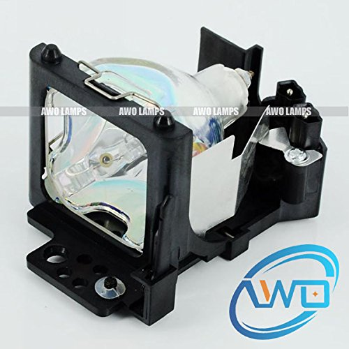 AWO DT00401 DT00511 DT00461 DT00521 Replacement Lamp with Housing for HITACHI CP-S225/S225A/S225AT/S225W/CPS225WA/CPS225WT/S317/S317W/S318/X328,ED-S3170/S3170A/S3170B/X3200/S3170AT/S3170B/X3