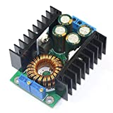 GEREE DC 24V to 12V CC CV Step Down Volts Regulator Constant Current/Voltage 12A DC Adjustable Buck Converter 7-32V To 0.8-28V LED Driver Power Supply