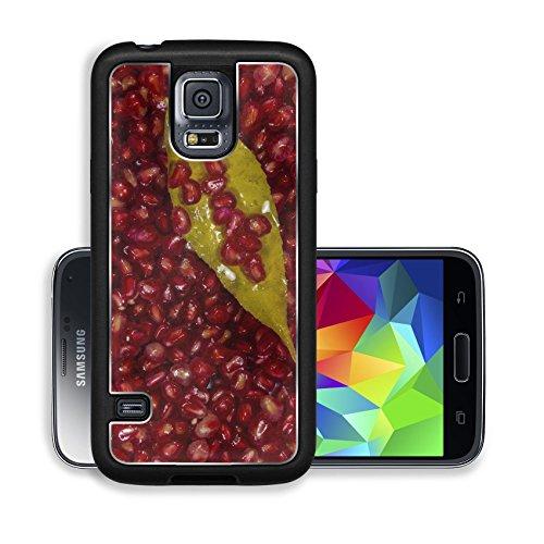 Liili Premium Samsung Galaxy S5 Aluminum Backplate Bumper Snap Case IMAGE ID 32573374 Azerbaijan pomegranate grains - Garnet Nature Flower