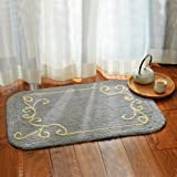 Hairy cushions bedroom door mats sanitary absorbent mats bath towels anti-slip mats thick -5080cm b