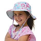 Girls Happy Flower Sun Hat (Large) ~ Millymook