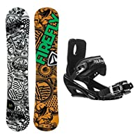 Firefly Obsession Wide Stealth 3 Snowboard and Binding Package by Firefly