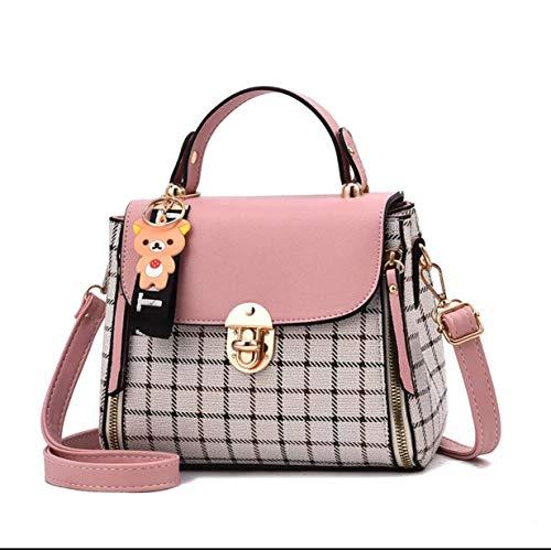 Women's Plaid Design Fashon Handbag