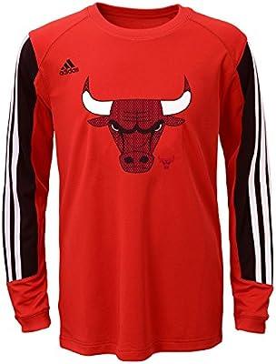 b654baf3acf4 sweden kids chicago bulls prestige long sleeve t shirt nba adidas official  tee a747f 70348