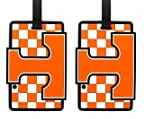 Tennessee Volunteers - NCAA Soft Luggage Bag Tag - Set of 2