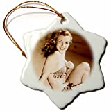 3dRose RinaPiro - Marilyn Monroe - Sexy image of Marilyn Monroe. Sepia. Cool
