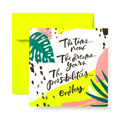 American Greetings Best Wishes Greeting Card - Congratulations, Graduation, New Job, Promotion, New - Wishes Greeting Cards Best
