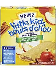Heinz Little Kids Apple Cinnamon Cereal Bar, 6 Bars
