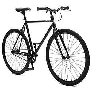 Critical Cycles Harper Single-Speed Fixed Gear Urban Commuter Bike; 49cm, Matte Black