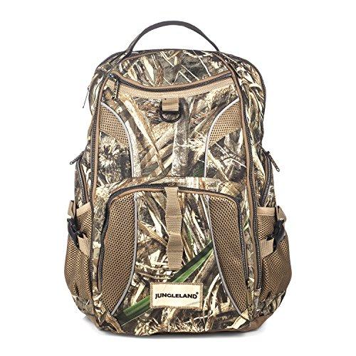 Jungleland Camo Backpack Hunting Backpack Bag Water Resistant Shockproof Hiking Daypack for Men and Women Green Camouflage Pink