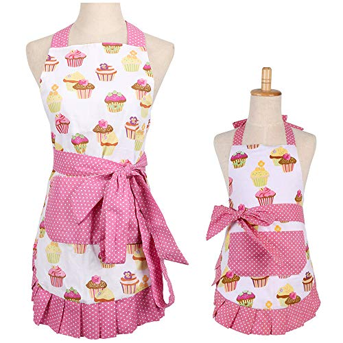 Cotton Mommy Daughter Apron