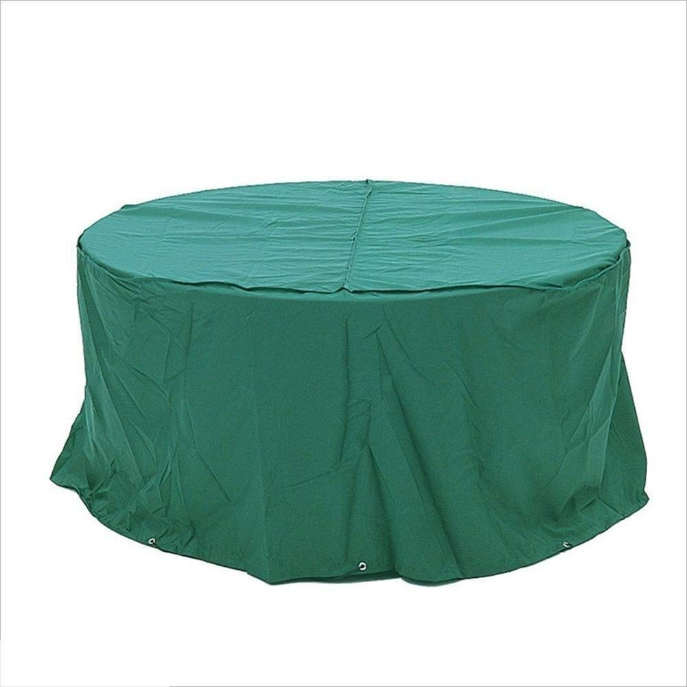 Nwn Protective Cover Furniture Cover Dust Cover Oxford Cloth Material Suitable for Home Garden Outdoor Dark Green Large Size 300x300x110cm by Nwn