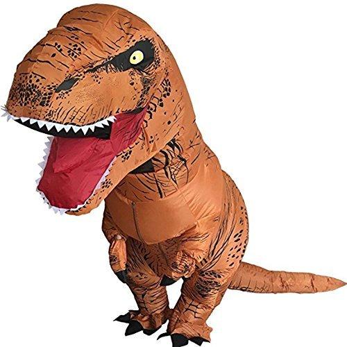 Splendoress T Rex Dinosaur Costume-Funniest Trex Inflatable Adult Dragon-Huge Blow Up -