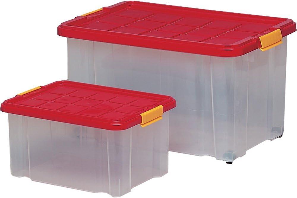 HSB Eurobox con tapa 60X40X30 cm 366100: Amazon.es: Electrónica