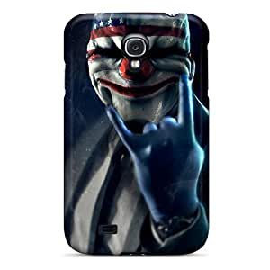 Samsung Galaxy S4 PnH1056Rhel Provide Private Custom Trendy Payday 2 Mask Pictures Shock-Absorbing Cell-phone Hard Cover -PhilHolmes