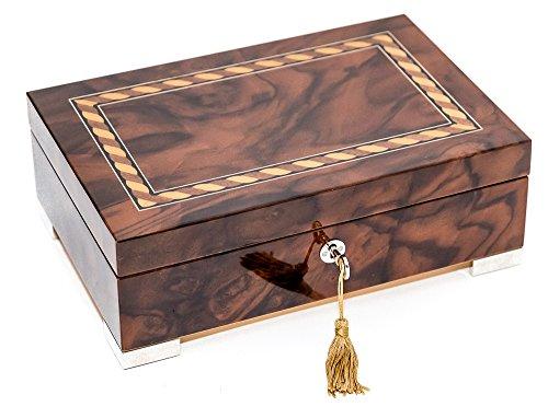 Bello Collezioni - Piazza Puccini Luxury Men's/Women's Jewelry Box Made in Italy
