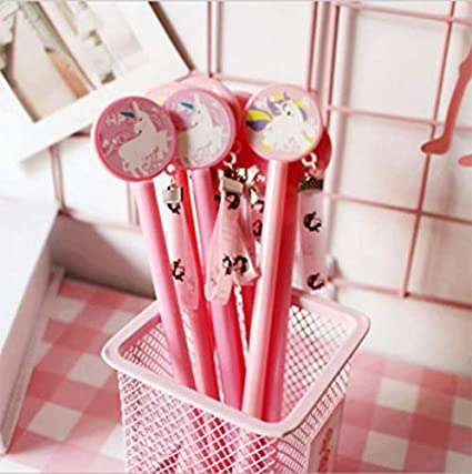 papeterie Moolila Pot /à crayons et stylos Motif flamand rose maison cosm/étiques Rose 8*8*9.5cm chat pour fournitures de bureau