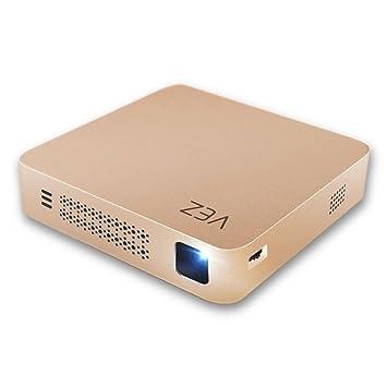 VEZ Home Proyector Inteligente Miniatura WIFI Y Conexión Bluetooth ...