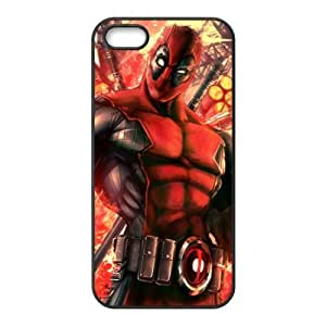 Valiant Warrior Deadpool Cell Phone Case for iPhone 5S