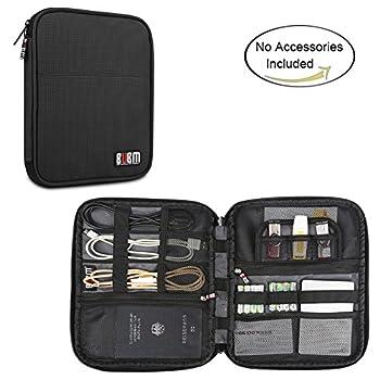 BUBM Travel Organizer for Electronics Accessories(New Version),Black