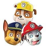 Patrulla Canina - Máscaras con goma para sujetar (Amscan 999145)