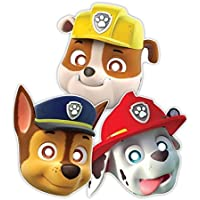 Patrulla Canina - Máscaras con goma para sujetar