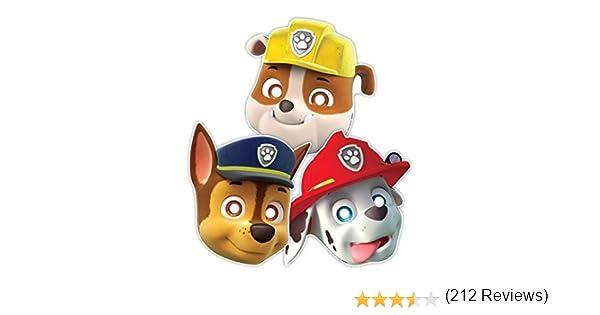 Patrulla Canina - Máscaras con goma para sujetar (Amscan 999145 ...