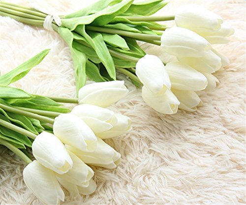 XHSP-30-pcs-Real-touch-Artificial-Tulip-Flowers-Home-Wedding-Party-Decor
