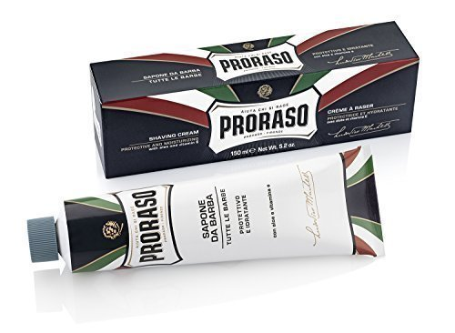 Proraso Aloe and Vitamin E Shaving Cream Tube (150 ml)