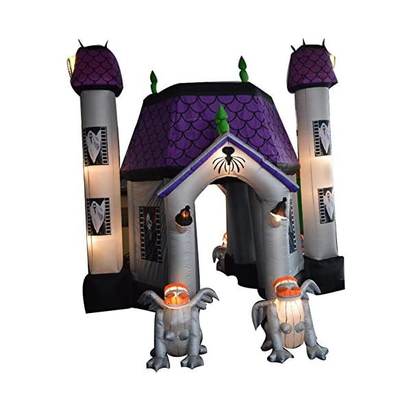 sayok 15ft tall inflatable halloween haunted house