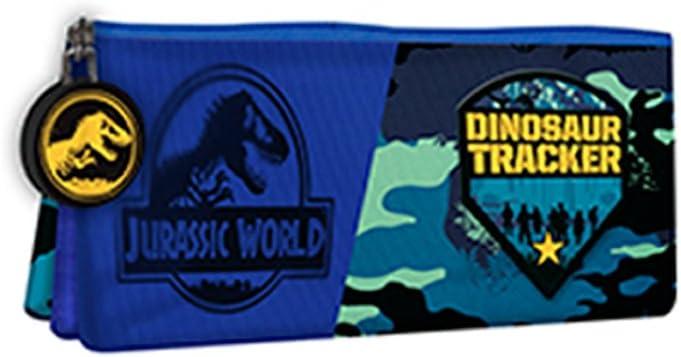 Jurassic World Estuche portatodo triple: Amazon.es: Juguetes y juegos