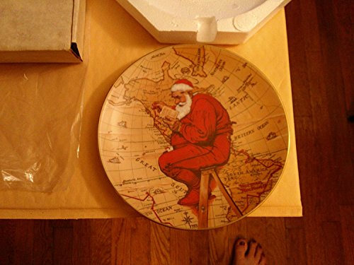 Norman Rockwell Christmas Plate - 7