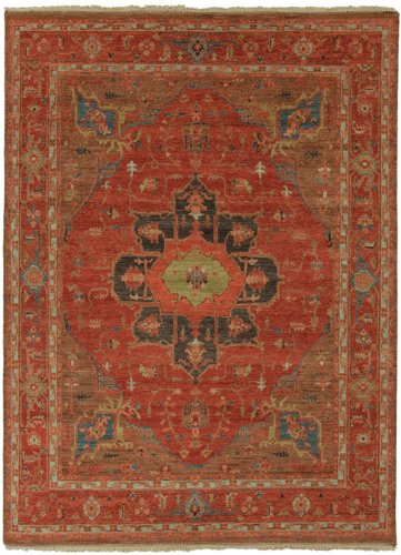 Jaipur Living York Hand-Knotted Oriental Red Area Rug (8' X 10')