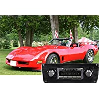 1977-1982 Chevrolet Corvette USA-630 II High Power 300 watt AM FM Car Stereo/Radio with 32 pin iPod Docking Cable