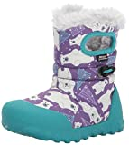 Bogs Baby B-Moc Bears Snow Boot, Purple/Multi, 10 M US Toddler
