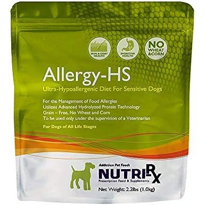 Addiction Pet Foods Af71230 Nutrirx Allergy Hs Diet, 2.2 Lb