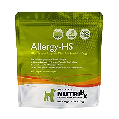 Addiction Pet Foods Af71230 Nutrirx Allergy Hs Diet, 2.2 Lb