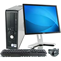 Refurbished: Optiplex GX280 Small Form Factor - 400GB HDD, 4GB Ram, DVD-Rom, 17 LCD Monitor, Windows XP Professional