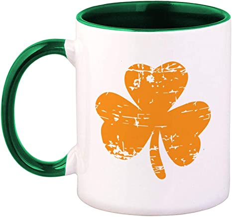 Part Irish All Trouble Coffee Tea Mug Ceramic 11 OZ St Patrick/'s Day