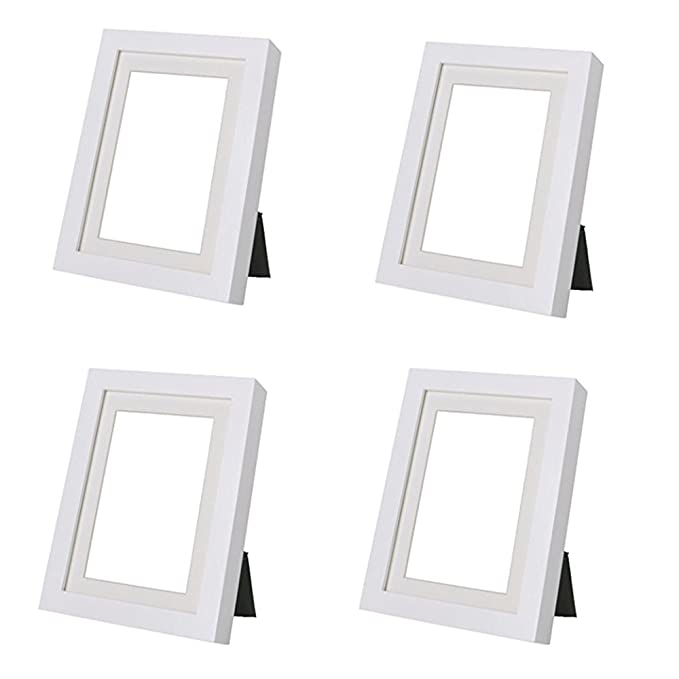 Amazon.com - Ikea Ribba 5x7 Picture Frame. White. Set of 2 -