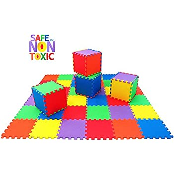 Amazon Com Angels 20 Xlarge Foam Mats Toy Ideal Gift